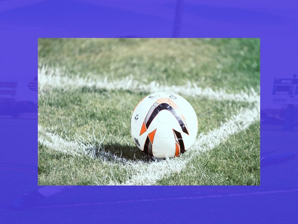 Soccer Google Slides Theme, Slide 22, 06123, Presentation Templates — PoweredTemplate.com