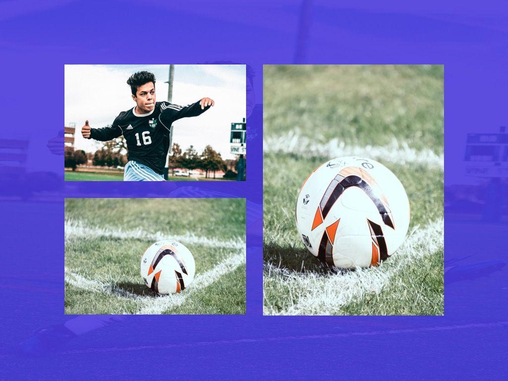 Soccer Google Slides Theme, Slide 24, 06123, Presentation Templates — PoweredTemplate.com