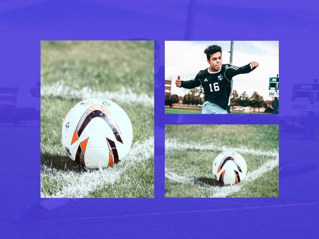Soccer Google Slides Theme, Slide 25, 06123, Presentation Templates — PoweredTemplate.com