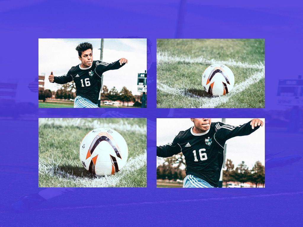 Soccer Google Slides Theme, Slide 26, 06123, Presentation Templates — PoweredTemplate.com