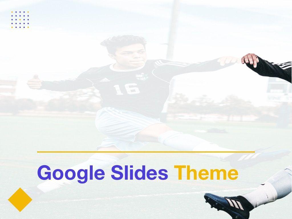 Soccer Google Slides Theme, Slide 8, 06123, Presentation Templates — PoweredTemplate.com
