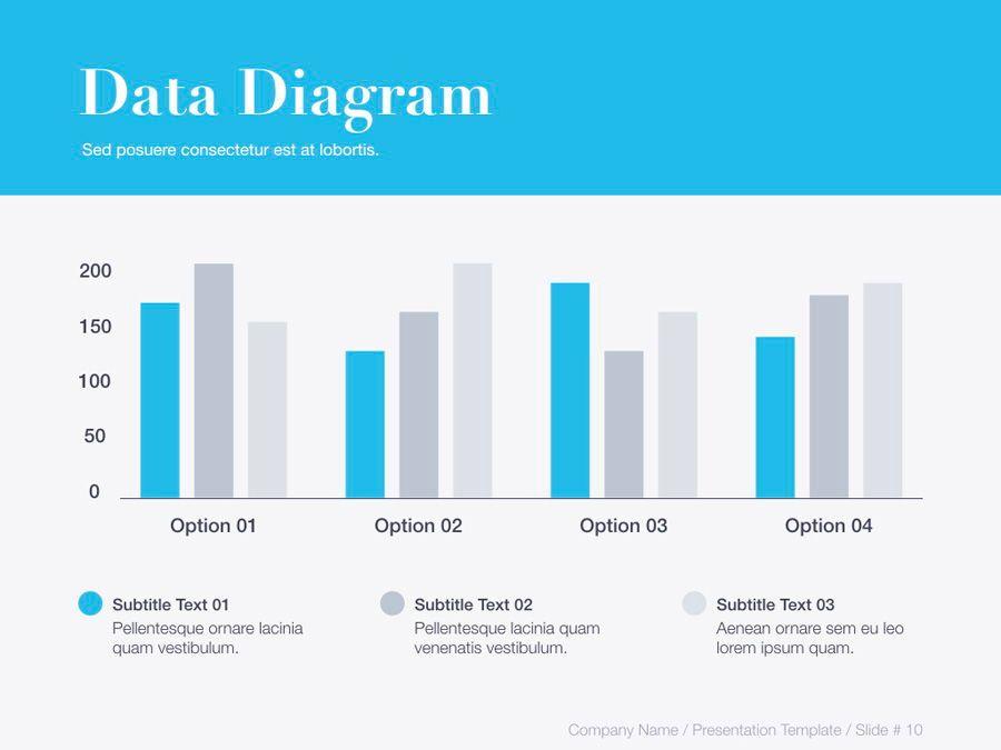 Unblemished Blue PowerPoint Template, Slide 11, 06124, Presentation Templates — PoweredTemplate.com