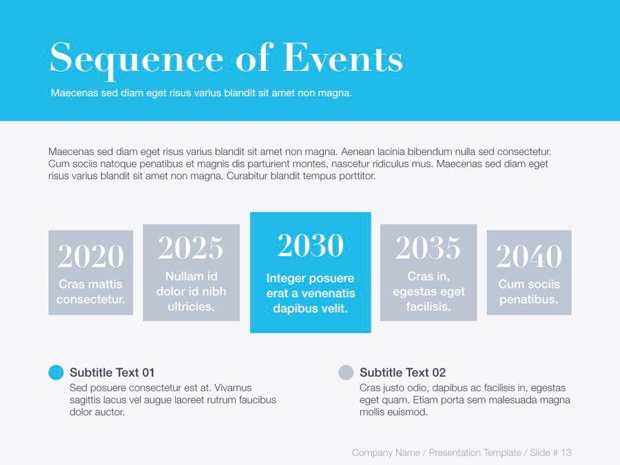 Unblemished Blue PowerPoint Template, Slide 14, 06124, Presentation Templates — PoweredTemplate.com