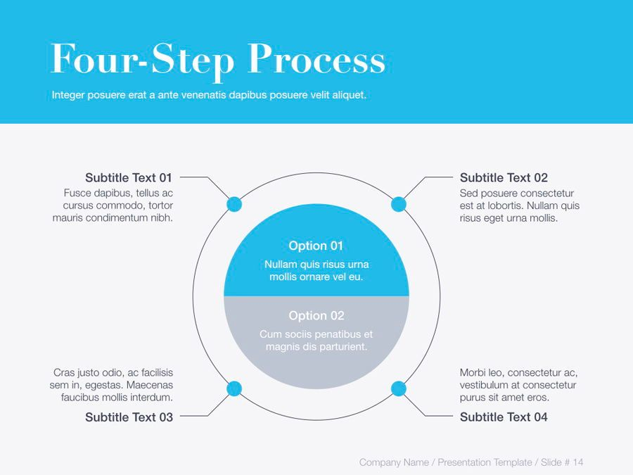 Unblemished Blue PowerPoint Template, Slide 15, 06124, Presentation Templates — PoweredTemplate.com