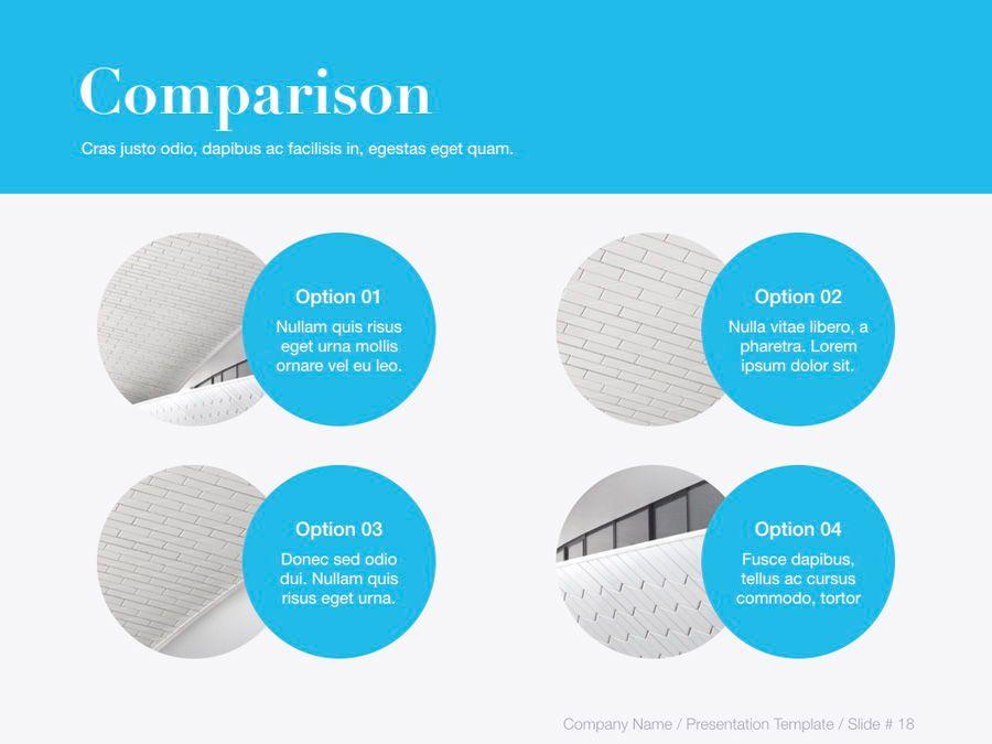 Unblemished Blue PowerPoint Template, Slide 19, 06124, Presentation Templates — PoweredTemplate.com