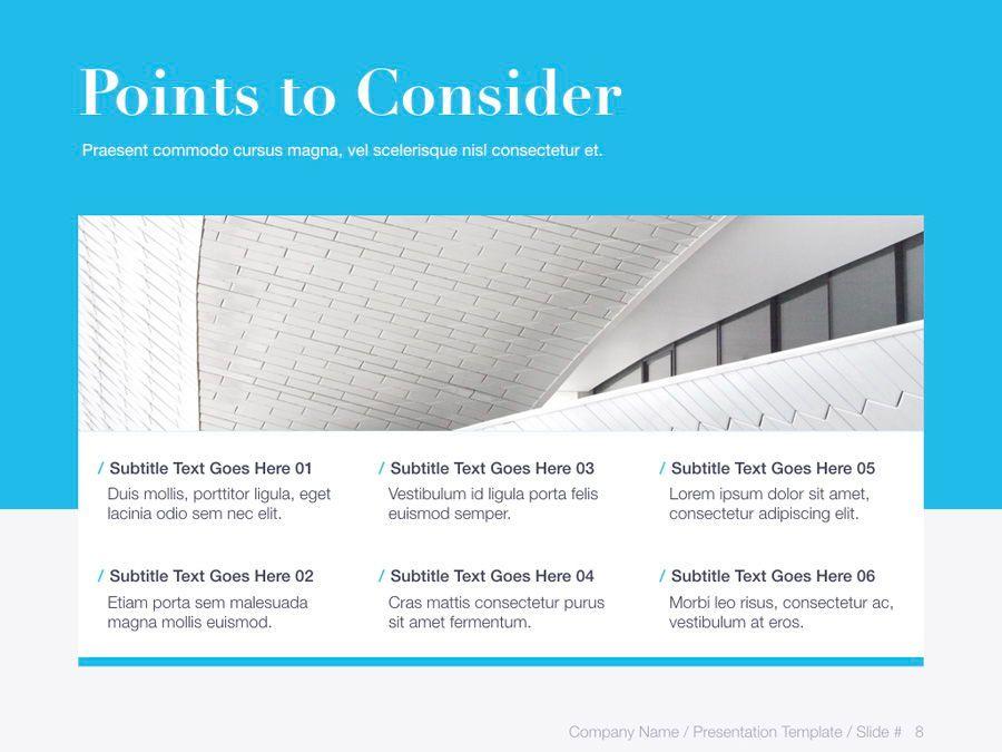 Unblemished Blue PowerPoint Template, Slide 9, 06124, Presentation Templates — PoweredTemplate.com