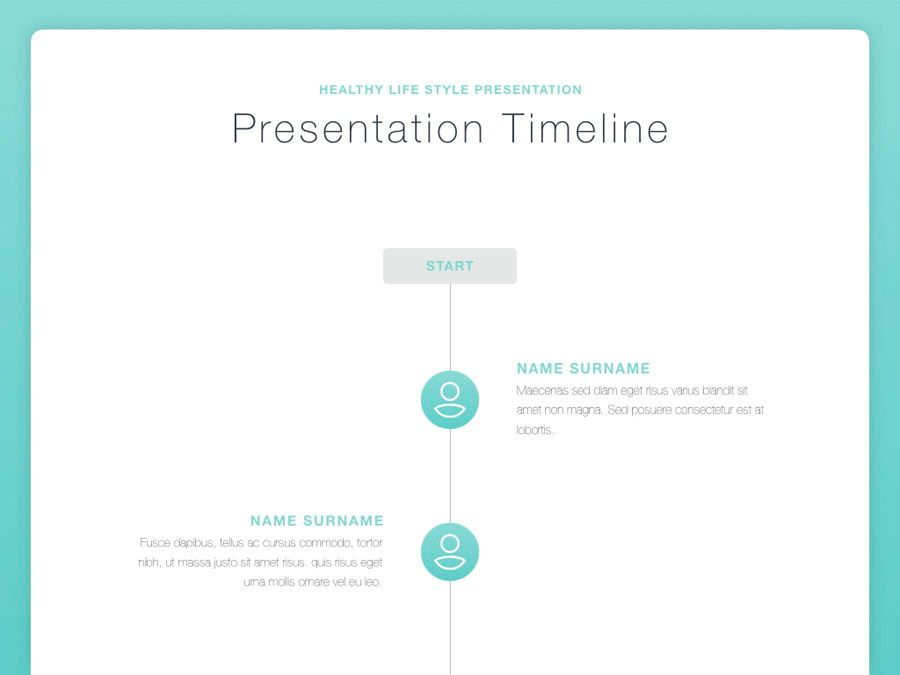 Wellbeing Keynote Template, Slide 5, 06128, Presentation Templates — PoweredTemplate.com
