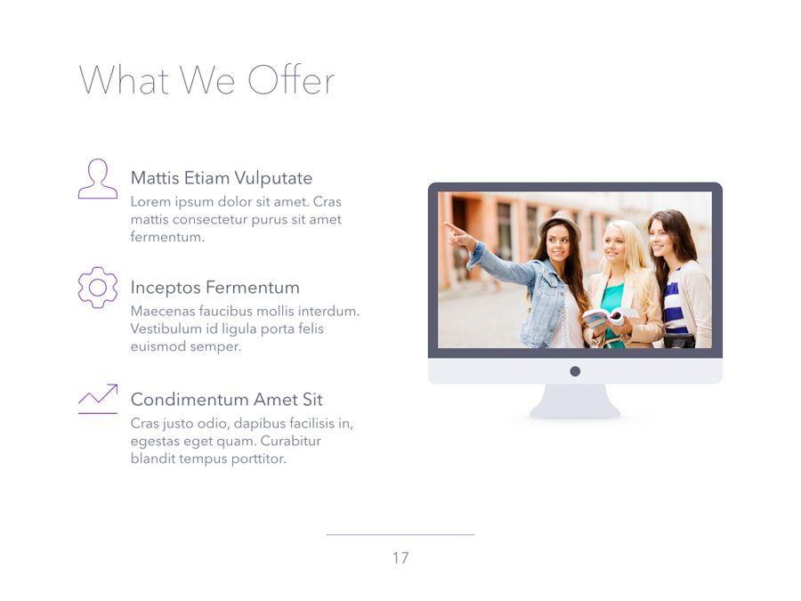 Sunset Safari PowerPoint Template, Slide 18, 06129, Presentation Templates — PoweredTemplate.com