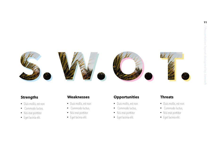 Summer Vibes PowerPoint Template, Slide 12, 06130, Presentation Templates — PoweredTemplate.com