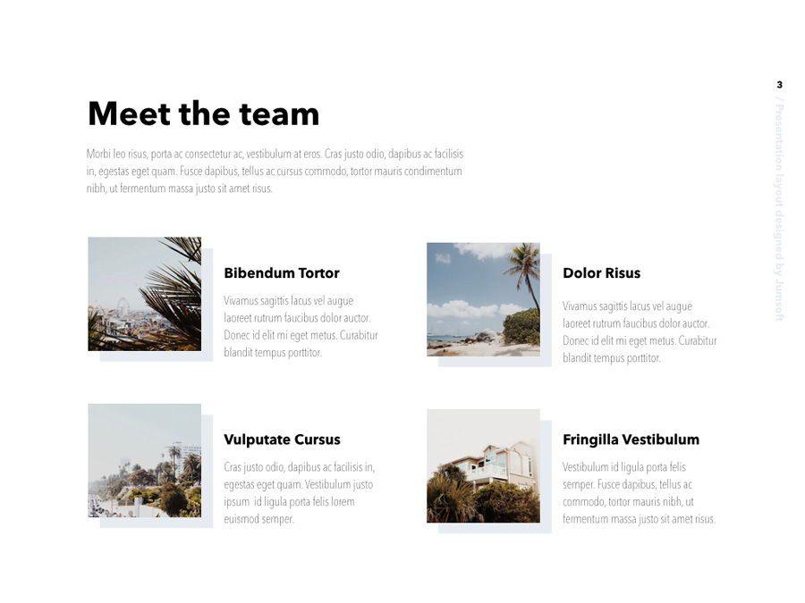 Summer Vibes PowerPoint Template, Slide 4, 06130, Presentation Templates — PoweredTemplate.com