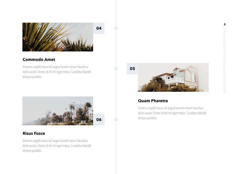 Summer Vibes PowerPoint Template, Slide 6, 06130, Presentation Templates — PoweredTemplate.com