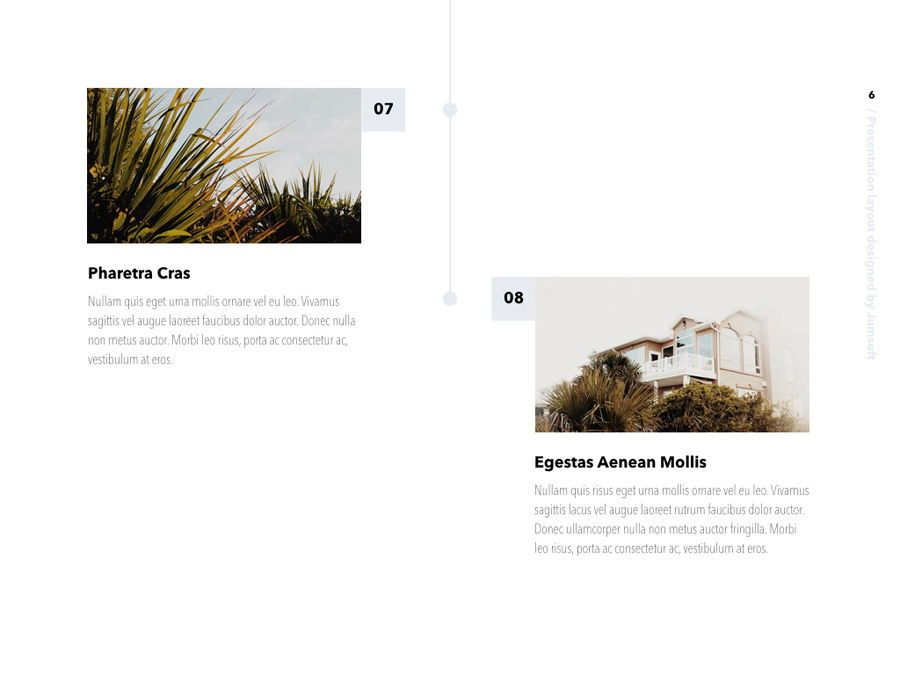 Summer Vibes PowerPoint Template, Slide 7, 06130, Presentation Templates — PoweredTemplate.com