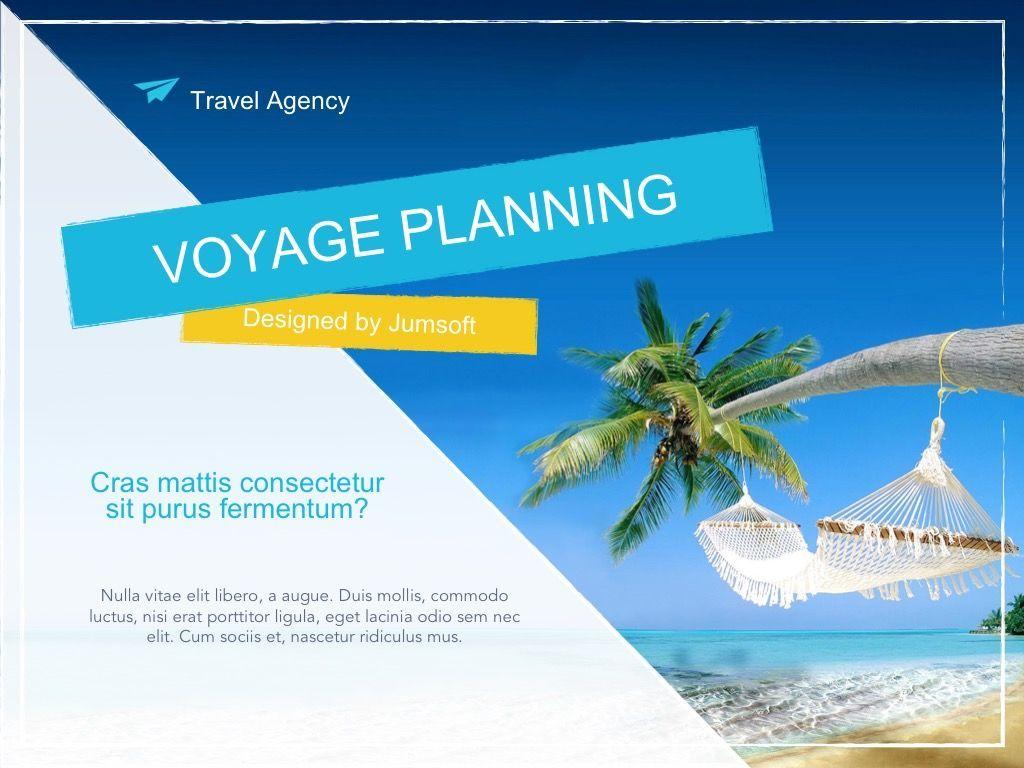 Voyage Google Slides Template, Slide 2, 06135, Presentation Templates — PoweredTemplate.com