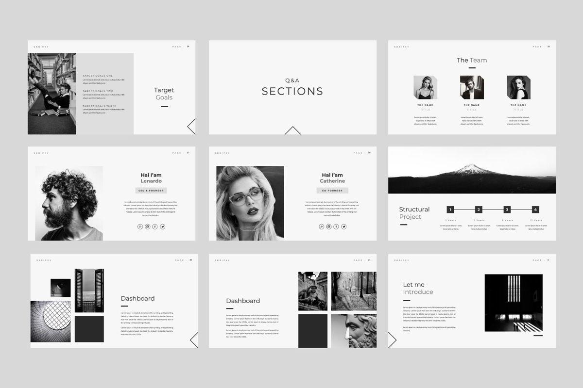 Skripxy Creative Google Slide, Slide 3, 06139, Presentation Templates — PoweredTemplate.com