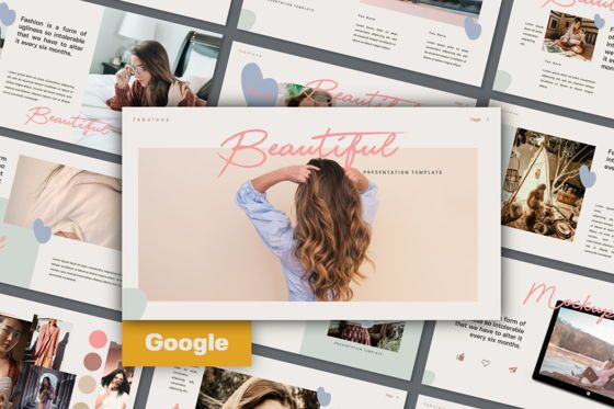 Presentation Templates: Beautiful Creative Google Slide #06141