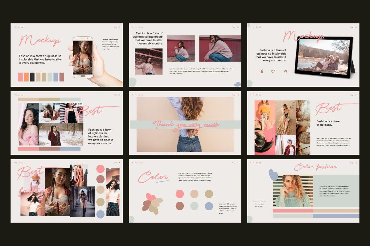 Beautiful Creative Google Slide, Slide 2, 06141, Presentation Templates — PoweredTemplate.com