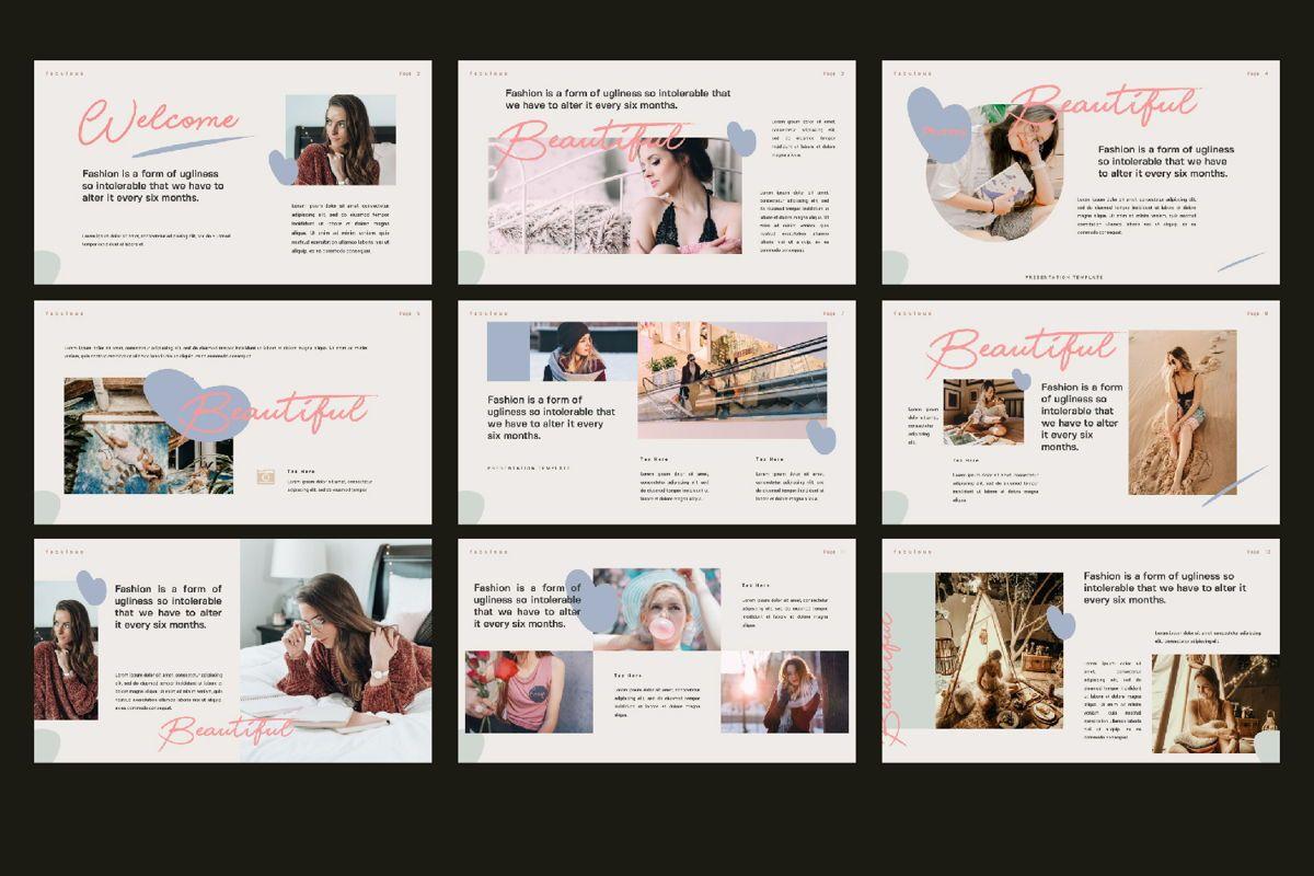 Beautiful Creative Google Slide, Slide 3, 06141, Presentation Templates — PoweredTemplate.com