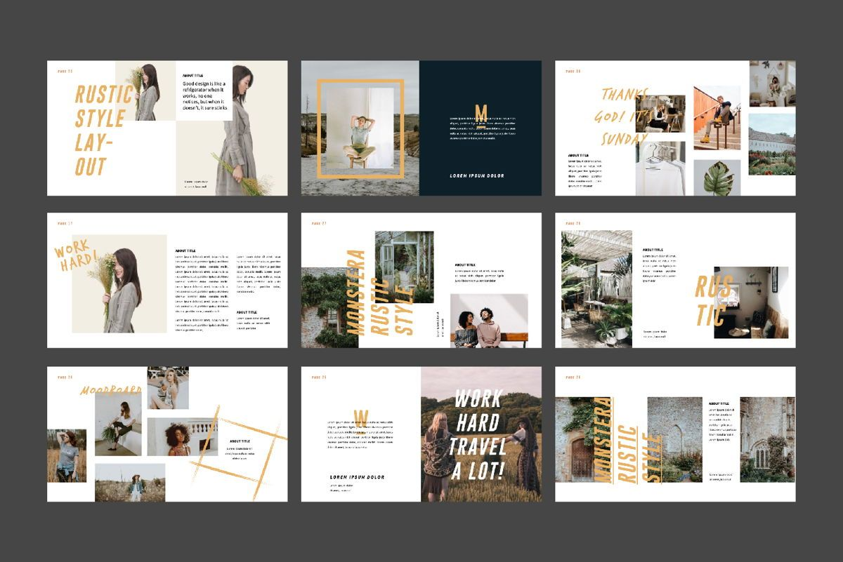 Monstera Creative Keynote, Slide 4, 06145, Presentation Templates — PoweredTemplate.com