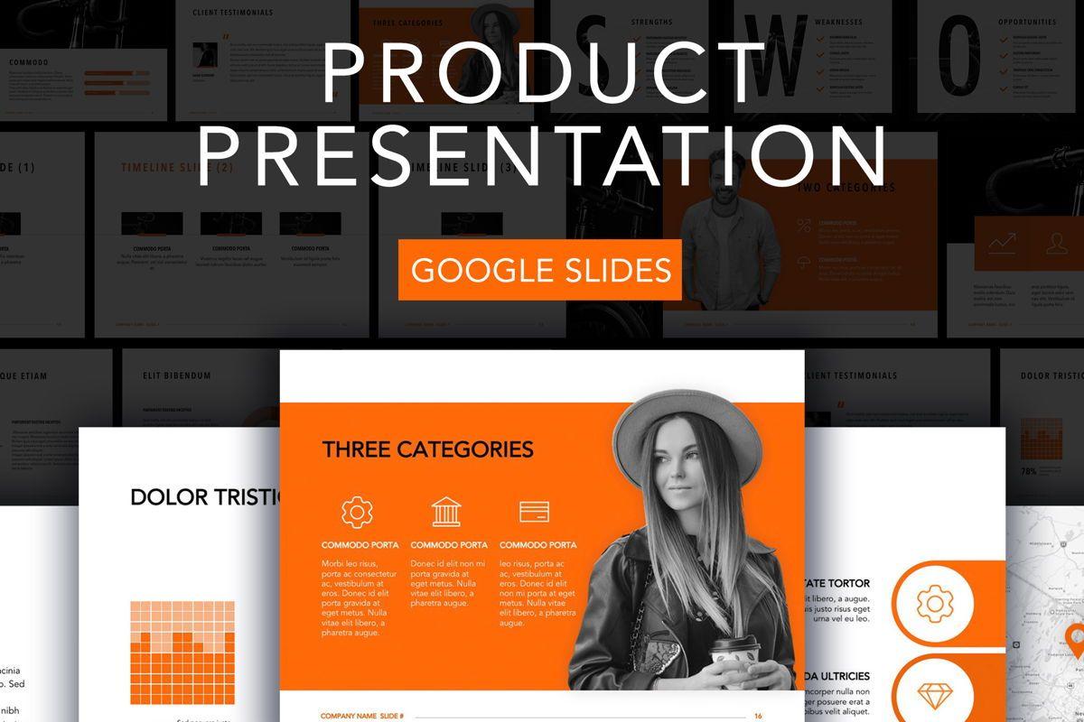 Sprint Google Slides Template, 06146, Presentation Templates — PoweredTemplate.com