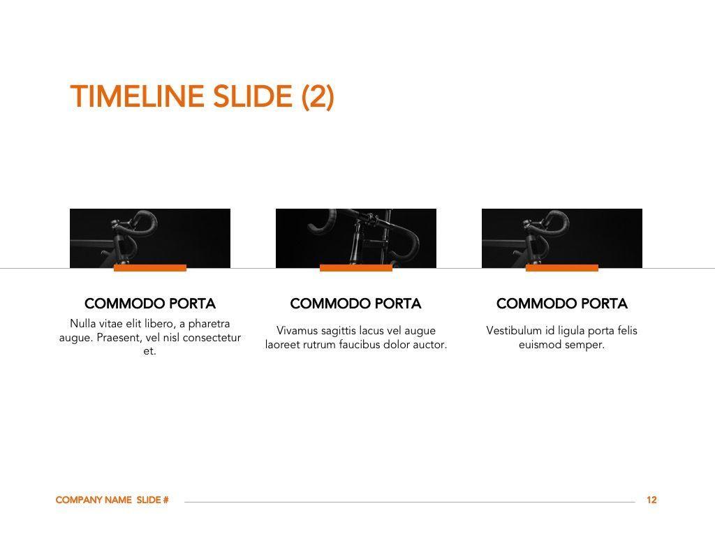 Sprint Google Slides Template, Slide 13, 06146, Presentation Templates — PoweredTemplate.com