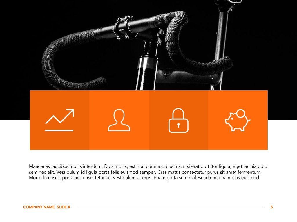 Sprint Google Slides Template, Slide 6, 06146, Presentation Templates — PoweredTemplate.com