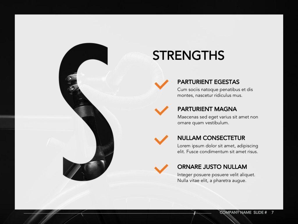 Sprint Google Slides Template, Slide 8, 06146, Presentation Templates — PoweredTemplate.com