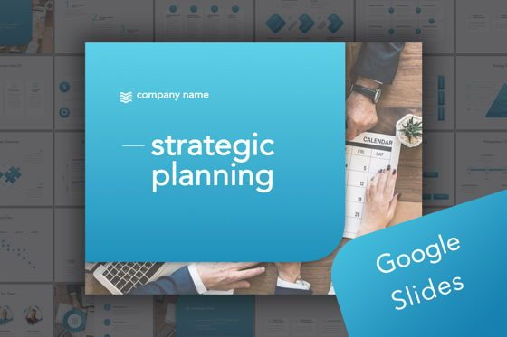 Presentation Templates: Strategic Planning Google Slides Template #06147
