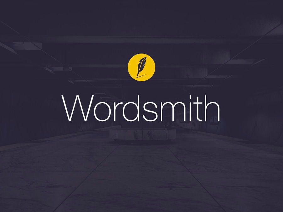 Wordsmith Keynote Template, Slide 2, 06148, Presentation Templates — PoweredTemplate.com