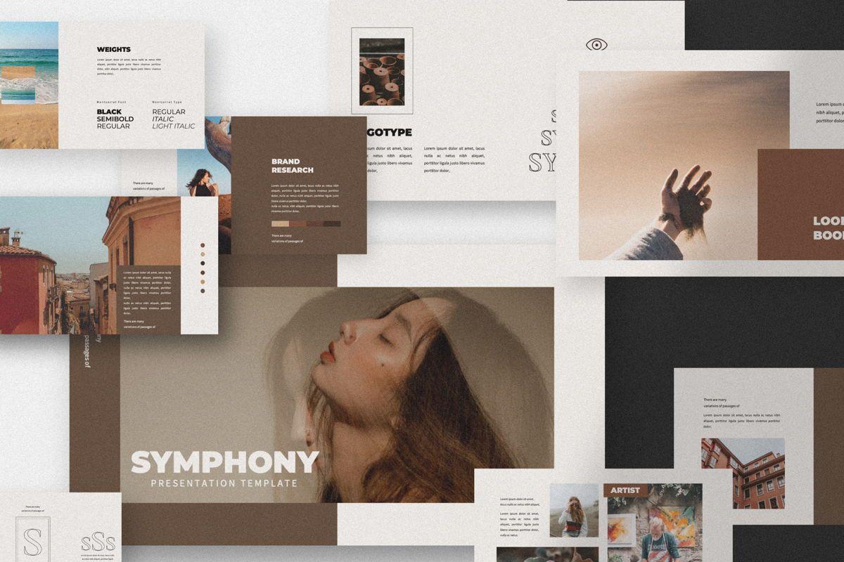 Symphony Creative Keynote, 06150, Presentation Templates — PoweredTemplate.com