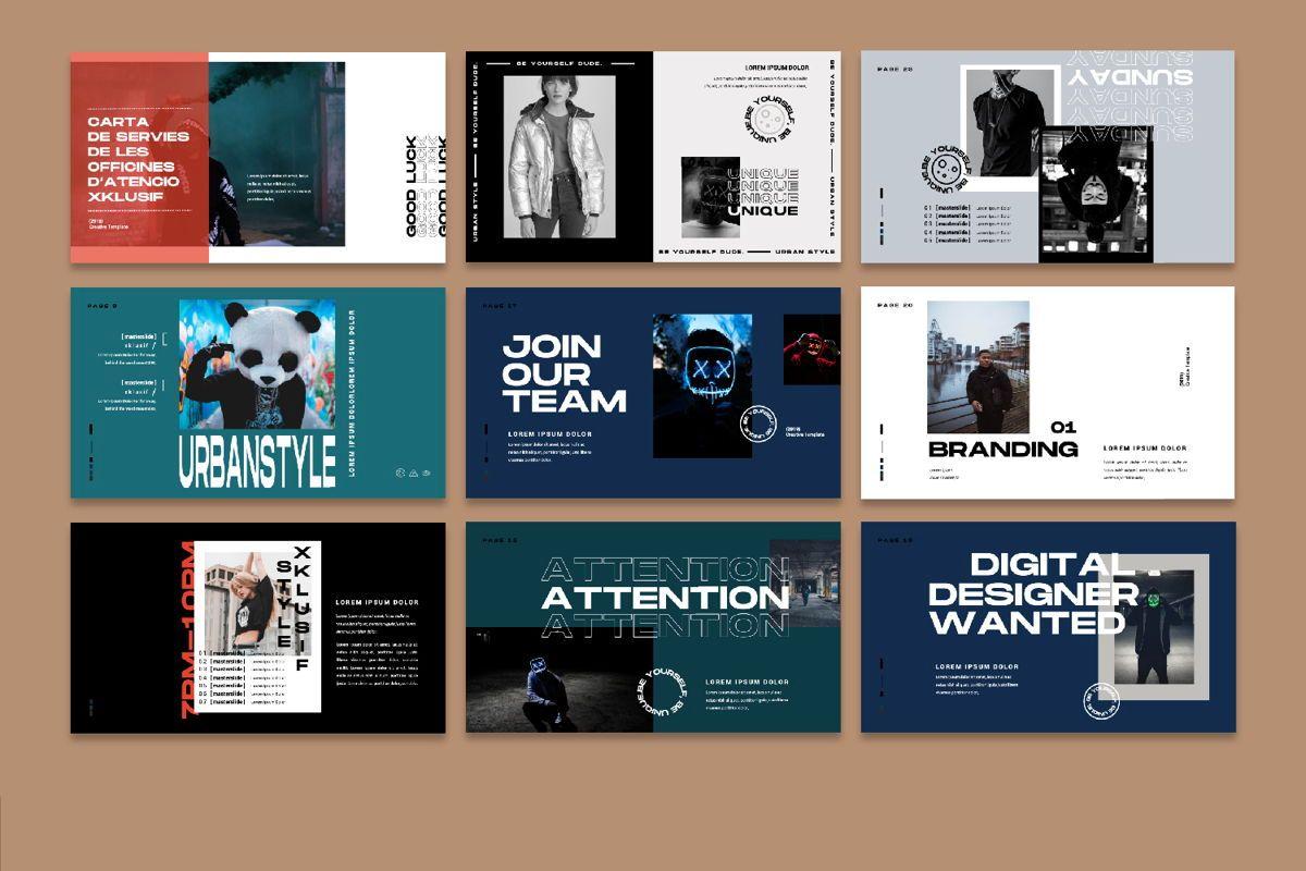 Xklusif Creative Powerpoint, Slide 4, 06152, Presentation Templates — PoweredTemplate.com