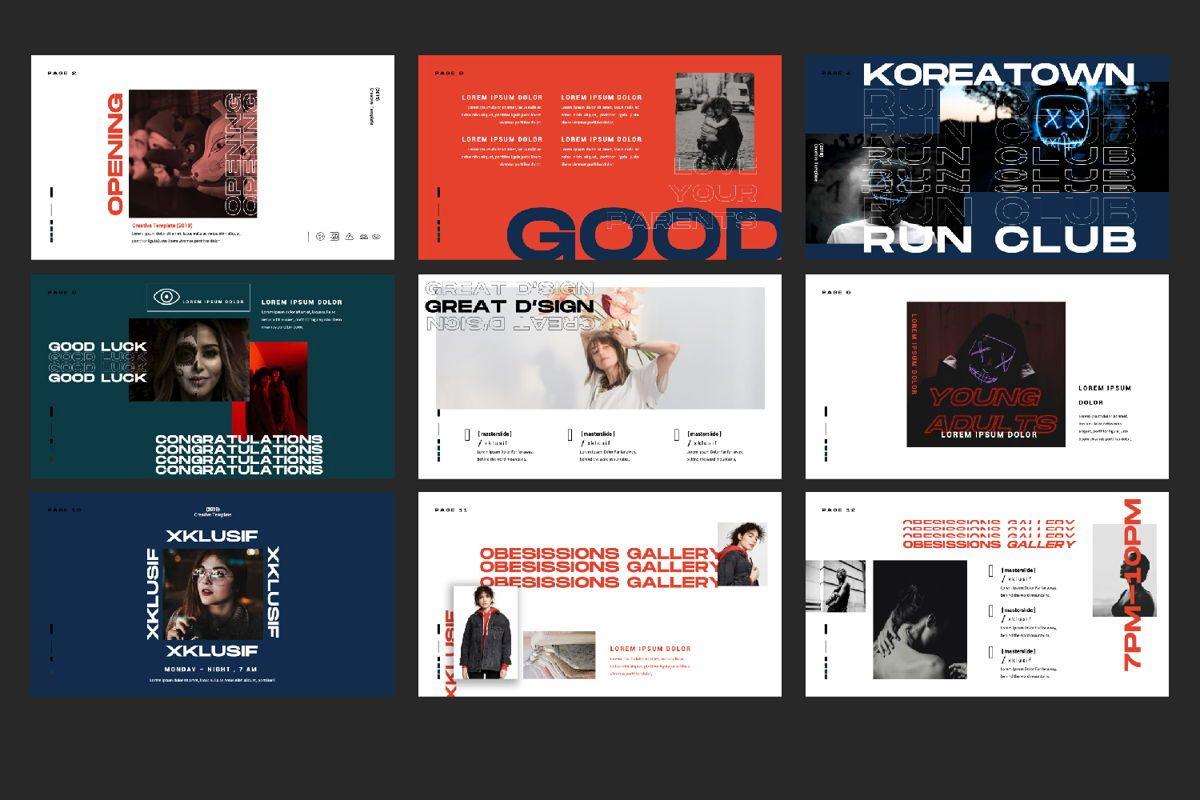 Xklusif Creative Keynote, Slide 3, 06154, Presentation Templates — PoweredTemplate.com