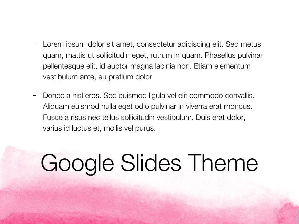 The Rouge Google Slides Template, Slide 10, 06155, Presentation Templates — PoweredTemplate.com