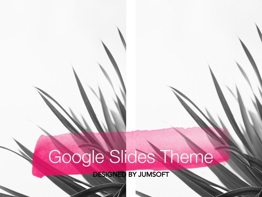 The Rouge Google Slides Template, Slide 11, 06155, Presentation Templates — PoweredTemplate.com