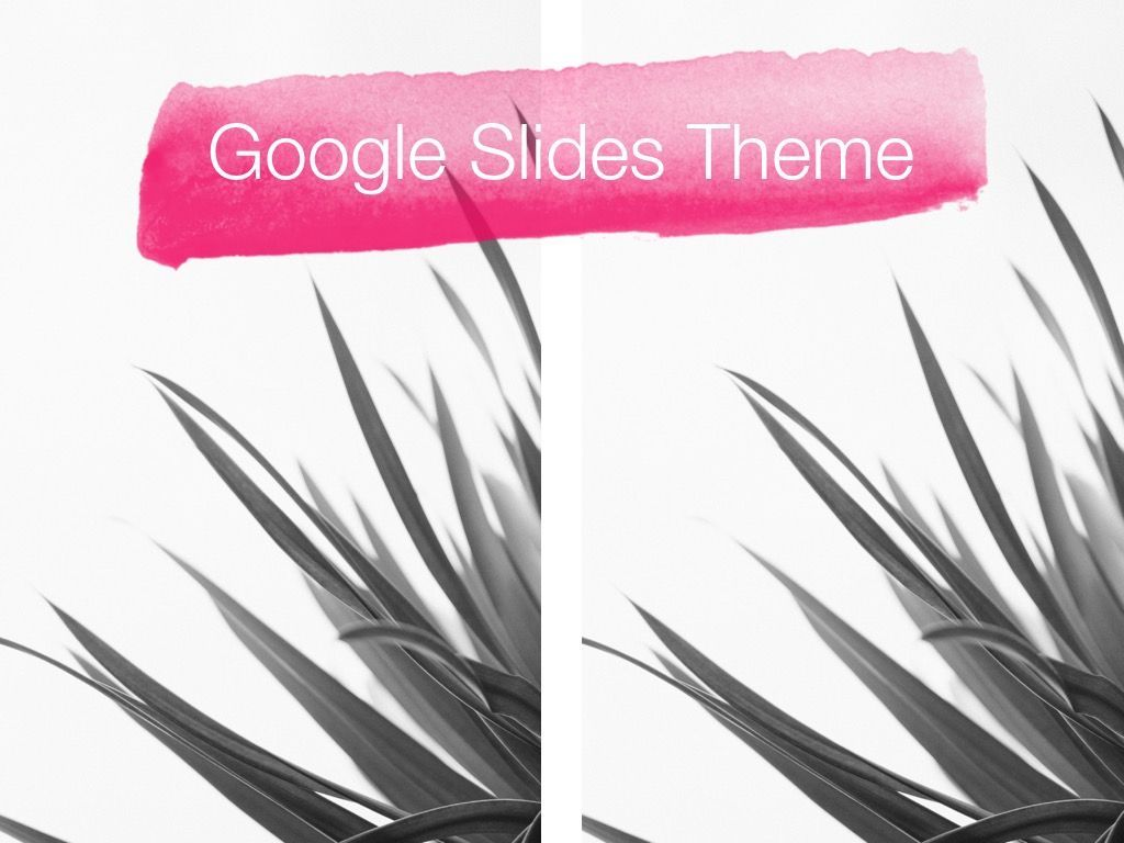 The Rouge Google Slides Template, Slide 13, 06155, Presentation Templates — PoweredTemplate.com