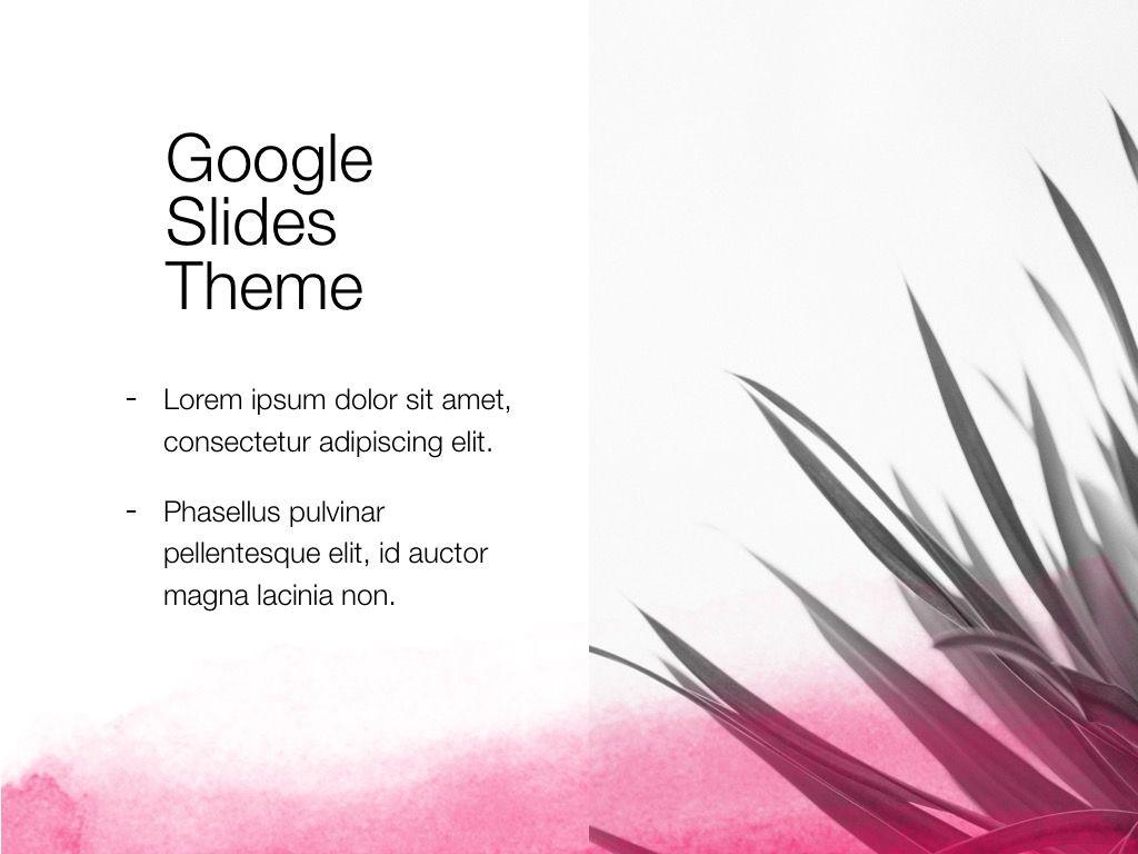 The Rouge Google Slides Template, Slide 14, 06155, Presentation Templates — PoweredTemplate.com