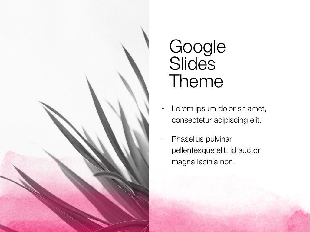 The Rouge Google Slides Template, Slide 15, 06155, Presentation Templates — PoweredTemplate.com