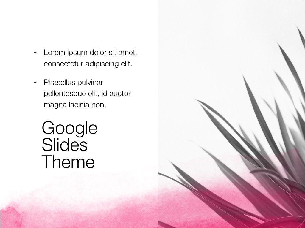 The Rouge Google Slides Template, Slide 16, 06155, Presentation Templates — PoweredTemplate.com