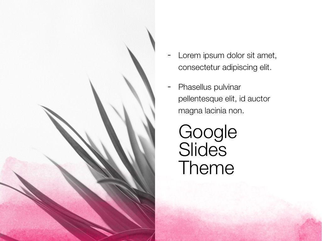 The Rouge Google Slides Template, Slide 17, 06155, Presentation Templates — PoweredTemplate.com