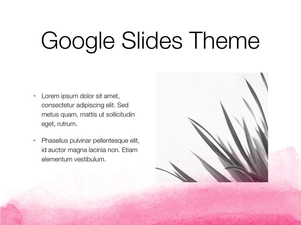 The Rouge Google Slides Template, Slide 27, 06155, Presentation Templates — PoweredTemplate.com