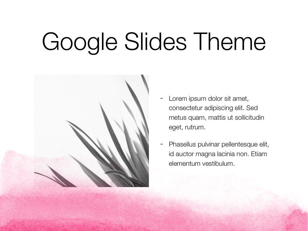 The Rouge Google Slides Template, Slide 28, 06155, Presentation Templates — PoweredTemplate.com