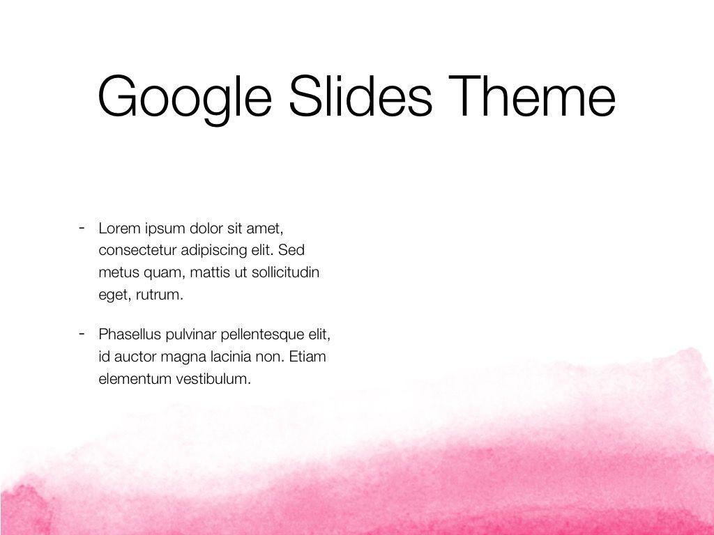 The Rouge Google Slides Template, Slide 29, 06155, Presentation Templates — PoweredTemplate.com