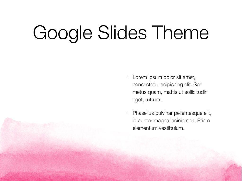 The Rouge Google Slides Template, Slide 30, 06155, Presentation Templates — PoweredTemplate.com