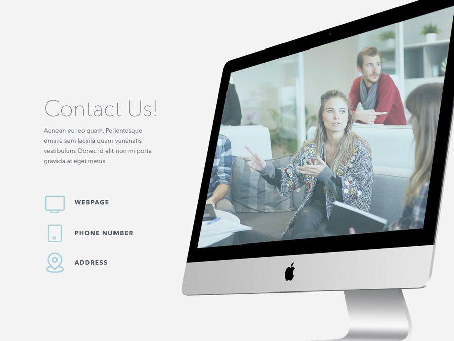 Teamwork PowerPoint Template, Slide 21, 06156, Presentation Templates — PoweredTemplate.com