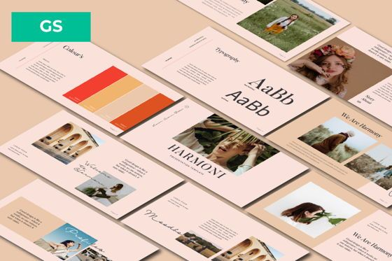 Presentation Templates: Harmoni Creative Google Slide #06159