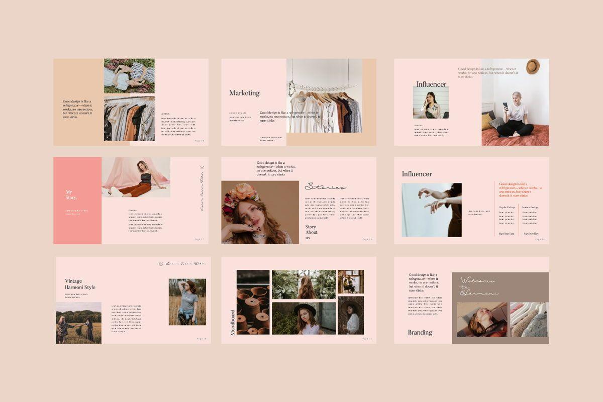 Harmoni Creative Keynote, Slide 3, 06160, Presentation Templates — PoweredTemplate.com