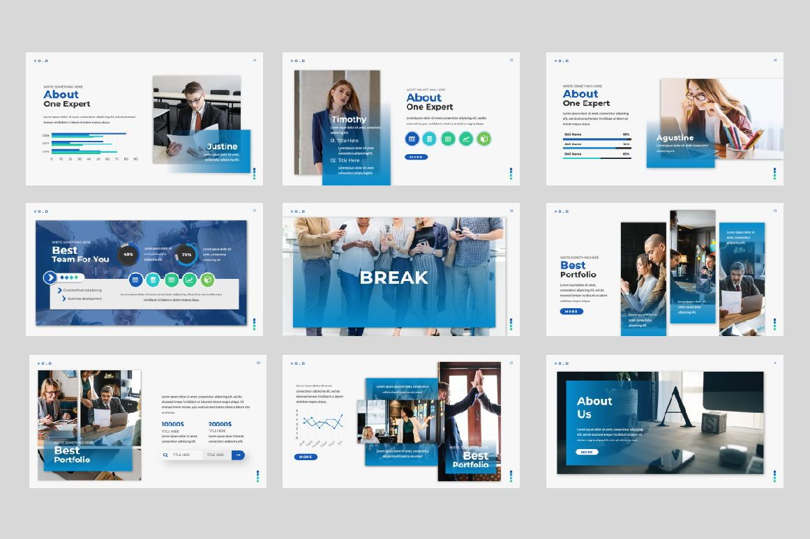 Hold Business Google Slide, Slide 2, 06165, Presentation Templates — PoweredTemplate.com