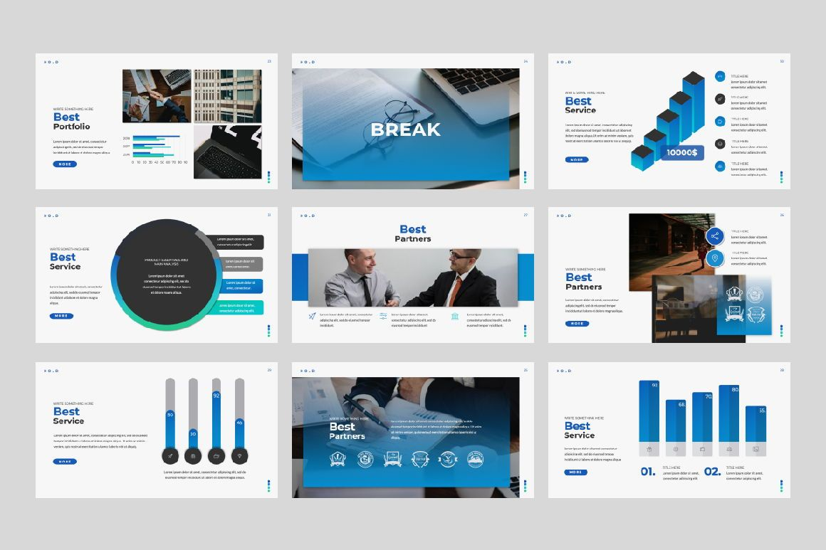 Hold Business Keynote, Slide 4, 06166, Presentation Templates — PoweredTemplate.com