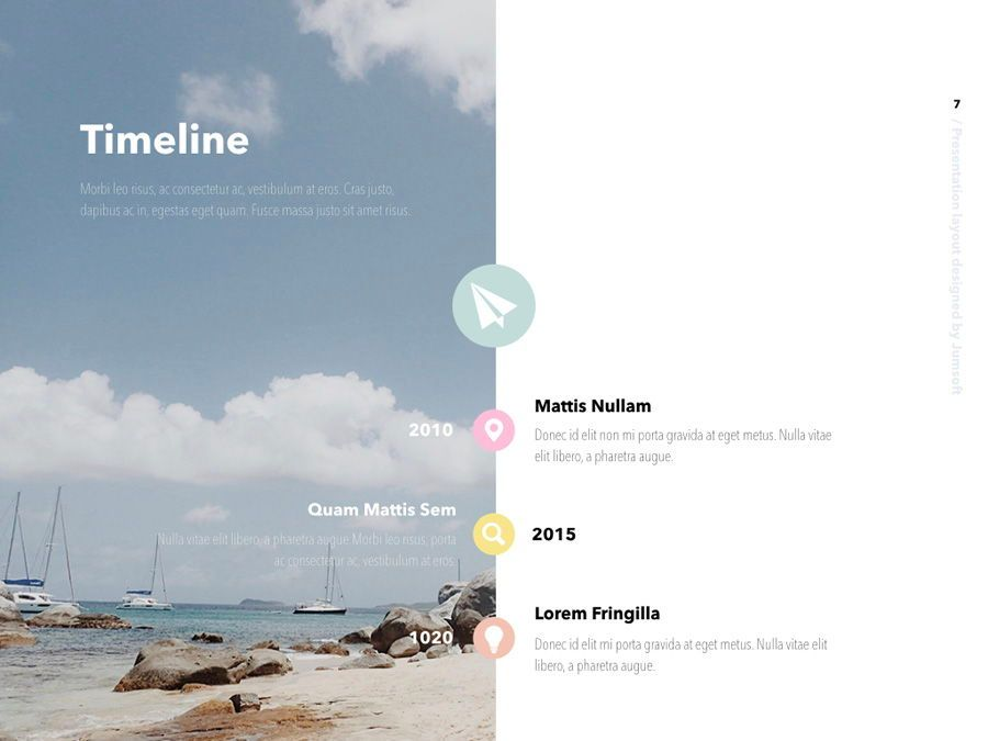 Summer Vibes Keynote Template, Slide 8, 06168, Presentation Templates — PoweredTemplate.com