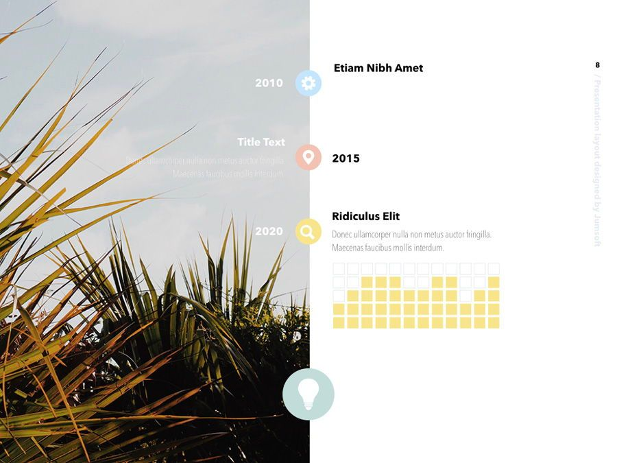 Summer Vibes Keynote Template, Slide 9, 06168, Presentation Templates — PoweredTemplate.com