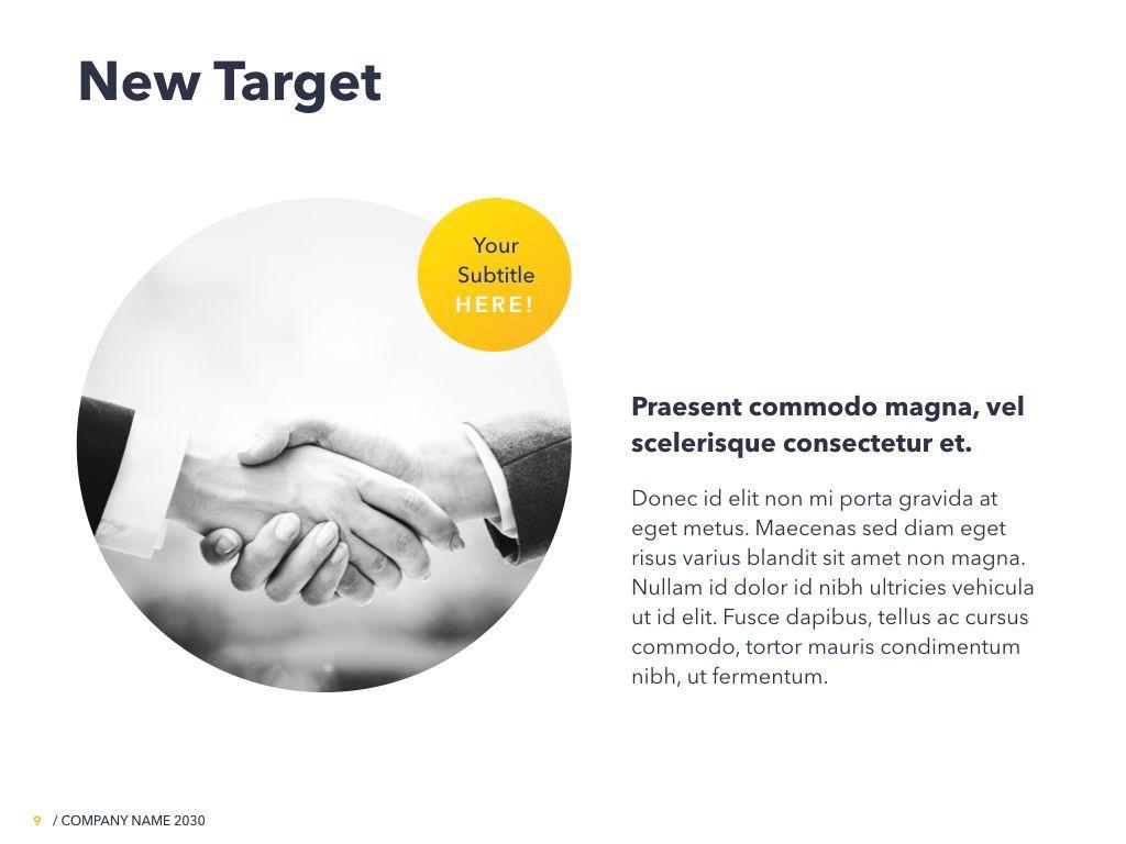 Yellow Concept PowerPoint Template, Slide 10, 06169, Presentation Templates — PoweredTemplate.com
